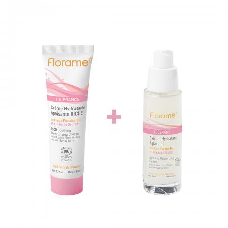 Echantillon Duo Tolérance - Sérum Hydratant et Crème Apaisante